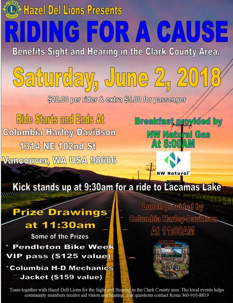 RIDING FOR A CAUSE