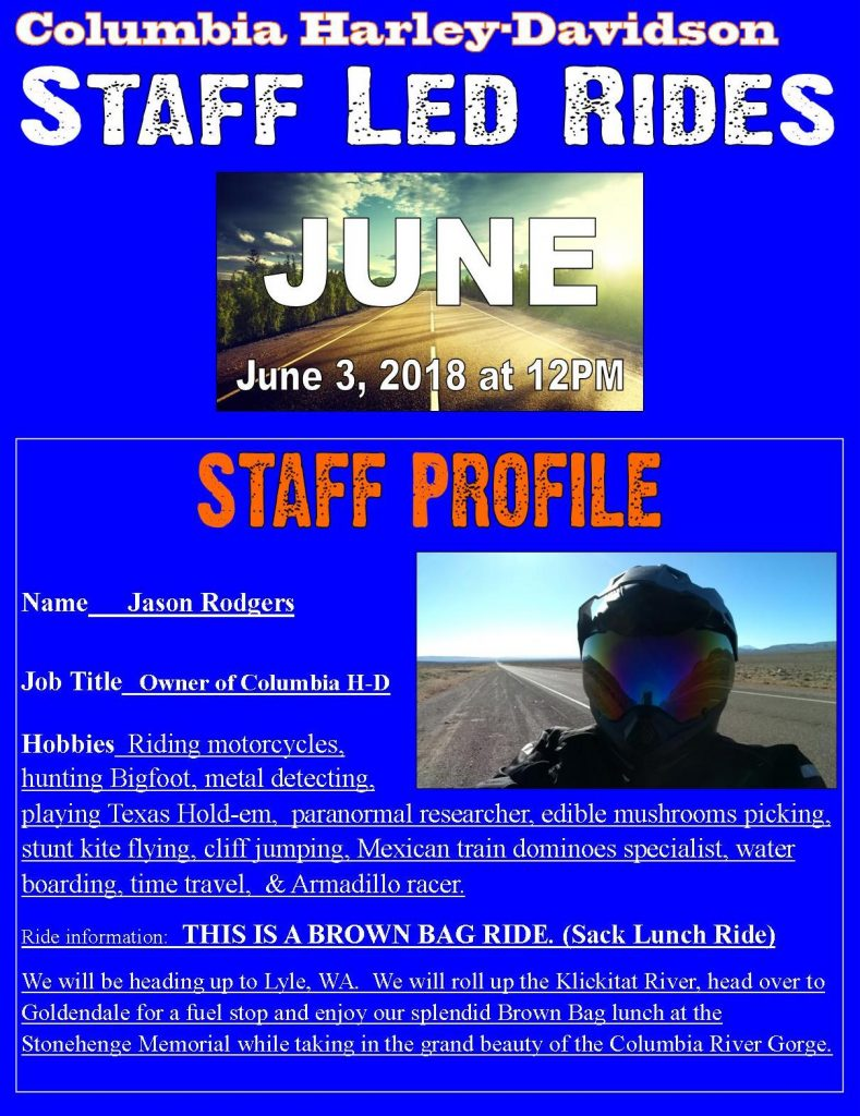 june ride profile.